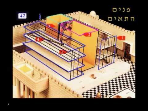 הסבר בתלת מימד בית המקדש השני וכל פרטיו