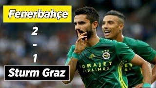 Sturm Graz 1-2 Fenerbahçe   Avrupa Ligi MAÇ ÖZETİ ve GOLLER