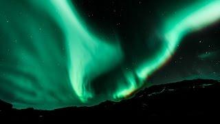 Reykjavik ICELAND Northern Lights