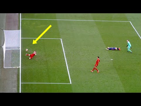 Incredible Goal Line Clearances In Football