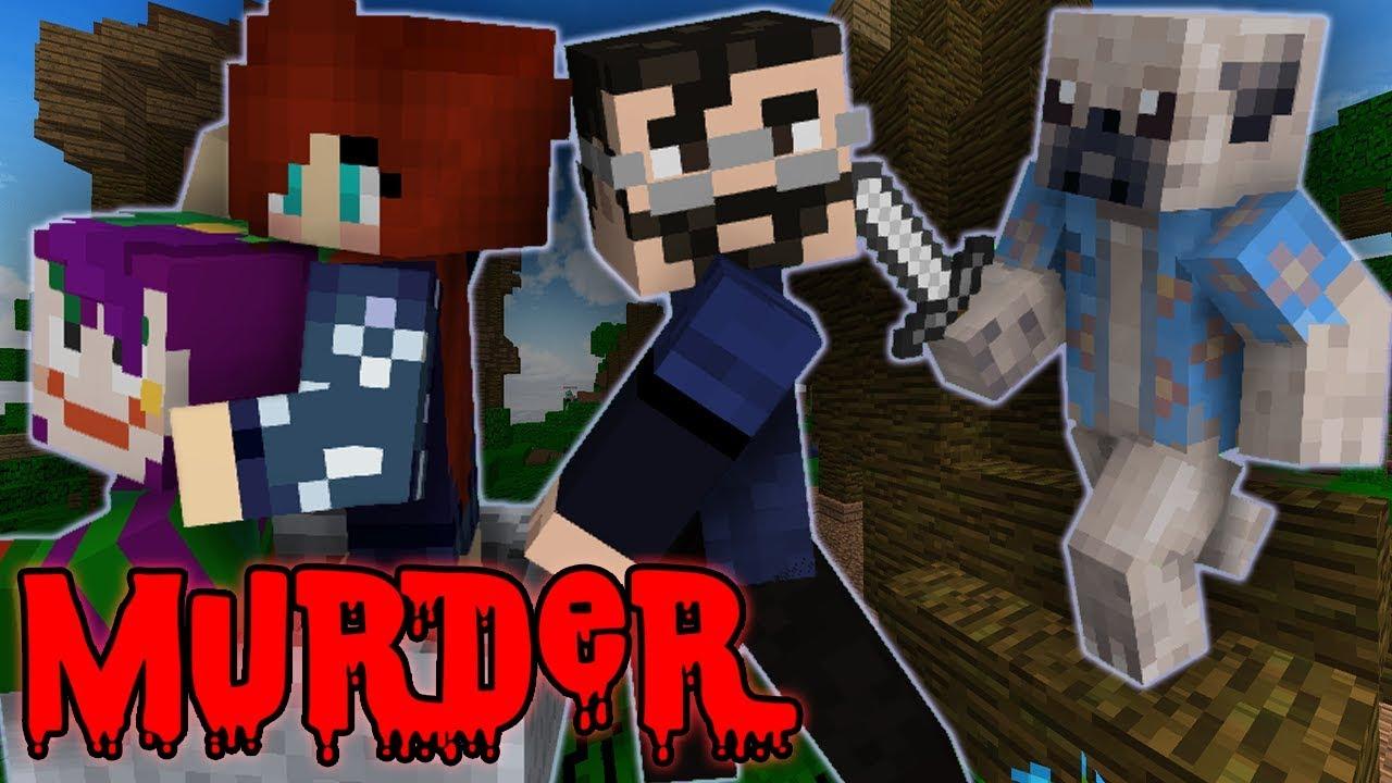 ROLLERCOASTER OF DEATH?! - Minecraft Muder Mystery