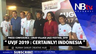 Download Lagu Ubud Village Jazz Festival 2019 : CERTAINLY! INDONESIA mp3