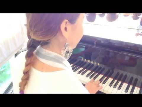 ดนตรี เปียโน งานแต่ง (บรรเลง -พรหมลิขิต (Cover)