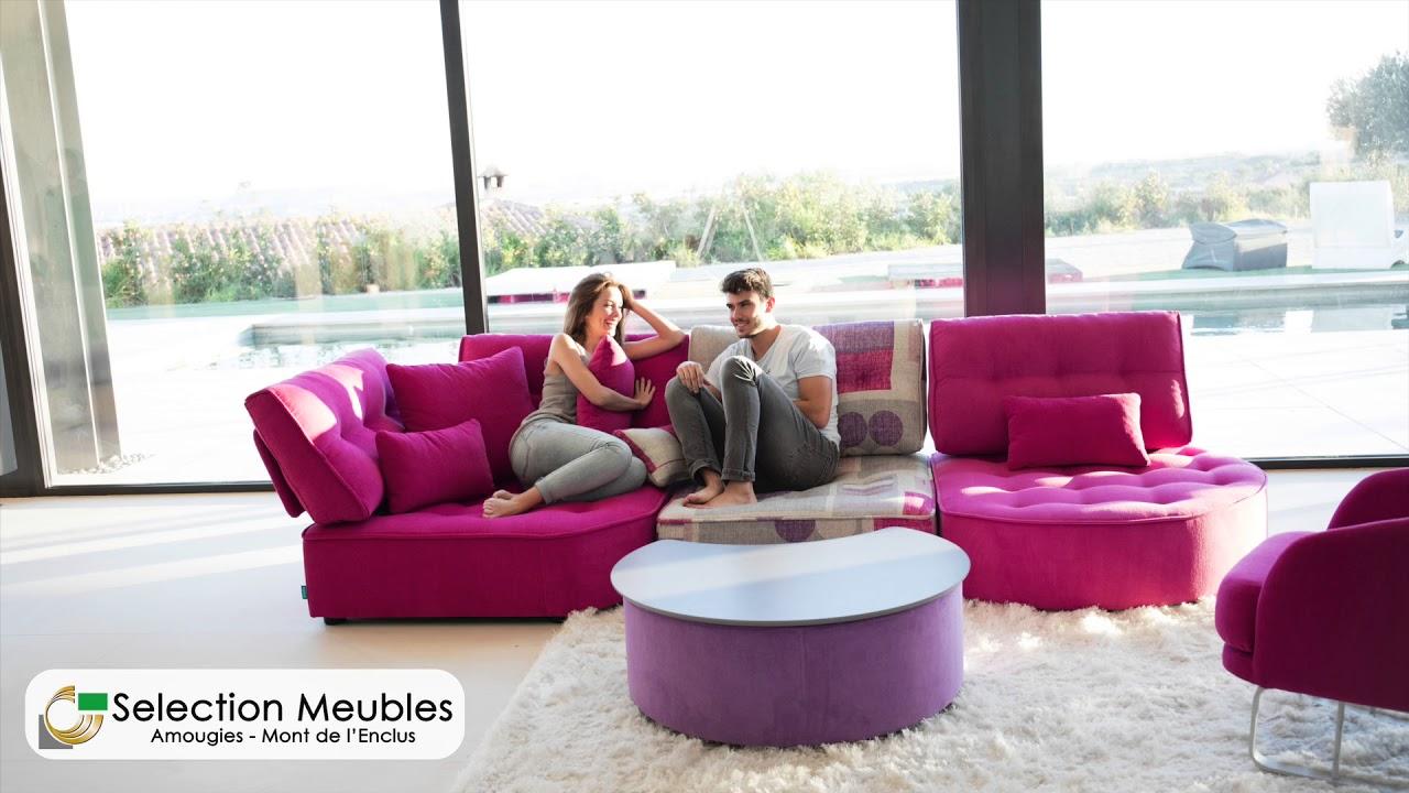 selection meubles fama canap s pour profiter la maison amougies belgique youtube. Black Bedroom Furniture Sets. Home Design Ideas