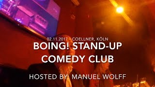 Boing! Stand up Comedy Club 02.11.2017   Meilor Bondoc