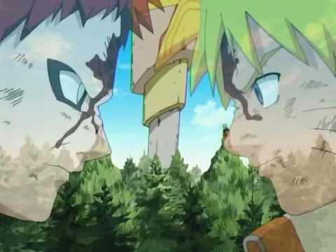 Naruto vs Gaara amv - YouTube Gaara Blushes Episode