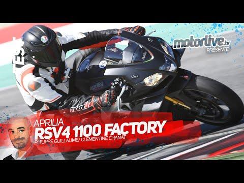 APRILIA RSV4 1100 FACTORY 2019 | TEST MOTORLIVE