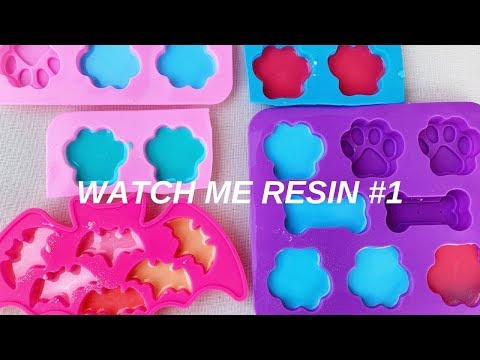 Watch me resin #1 | Time lapse Pouring and Demolding | ResinByN