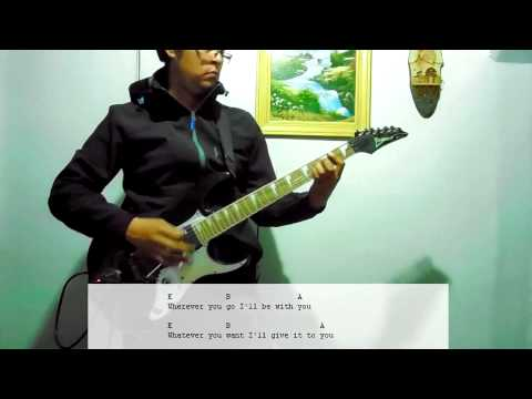The Flame - Cheap Trick (Guitar Cover with Tab)