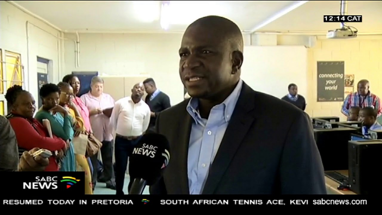 Stats SA donated state-of-the-art technology to two schools in Port  Elizabeth