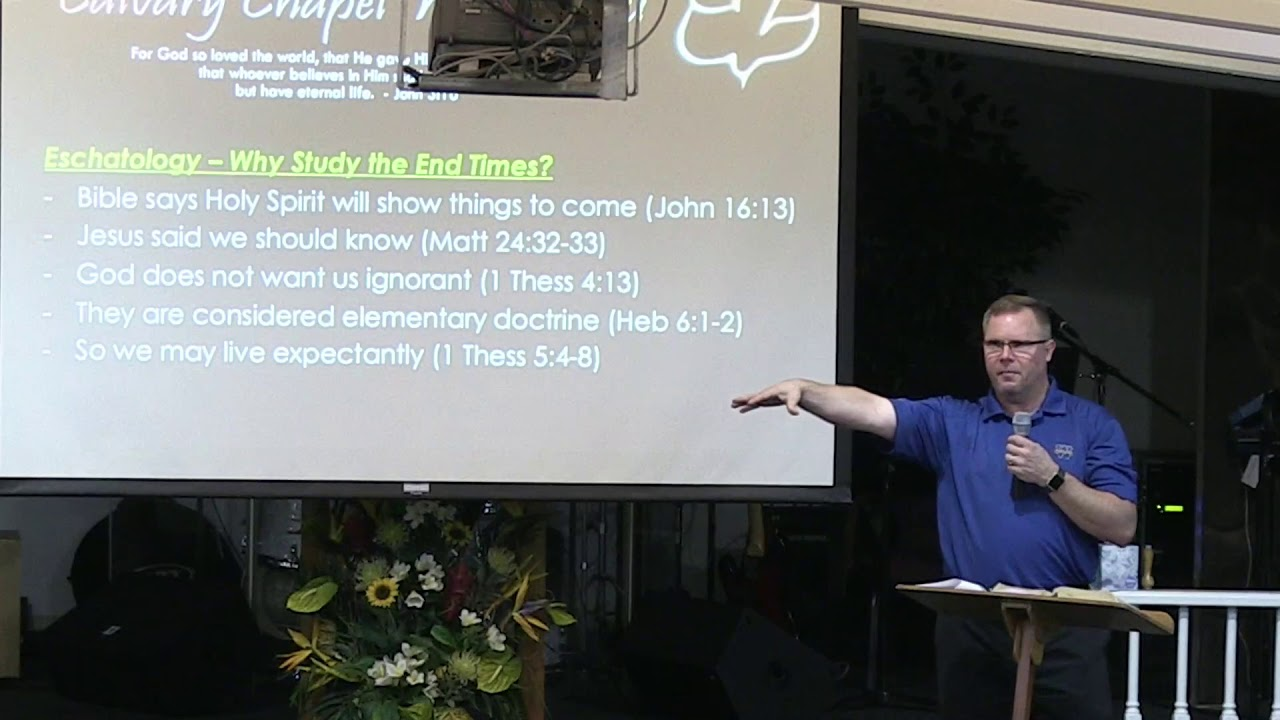 23 October 2019 I CCWO's Midweek Study in Eschatology I Pastor Dan Jacobson