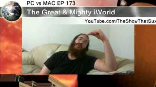 PC vs MAC EP 173 : Part 3 : iPhone 4 Design Flaw Will up the Number of Dropped Call