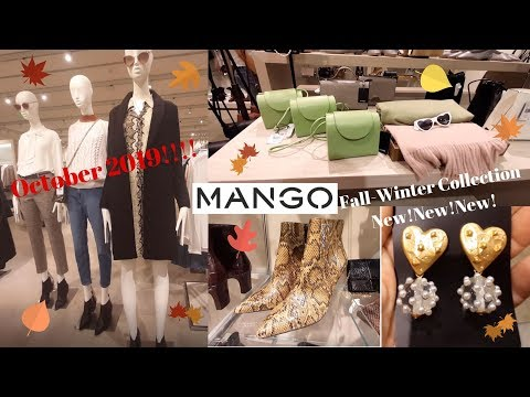 Mango Fall-Winter 2019/2020 new Women's Fashion Collection / October 2019 / New!!!