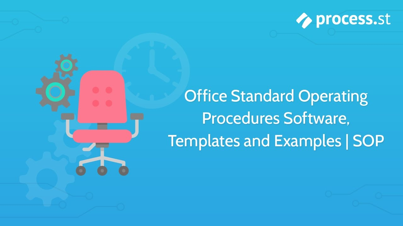 Office Standard Operating Procedures Software Templates