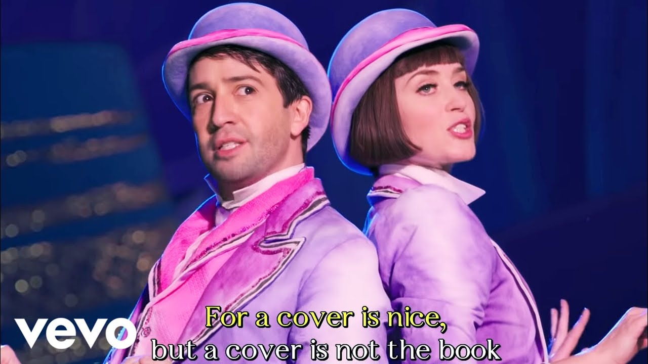 A Cover Is Not The Book Sing Along Edition From Mary Poppins Returns Youtube