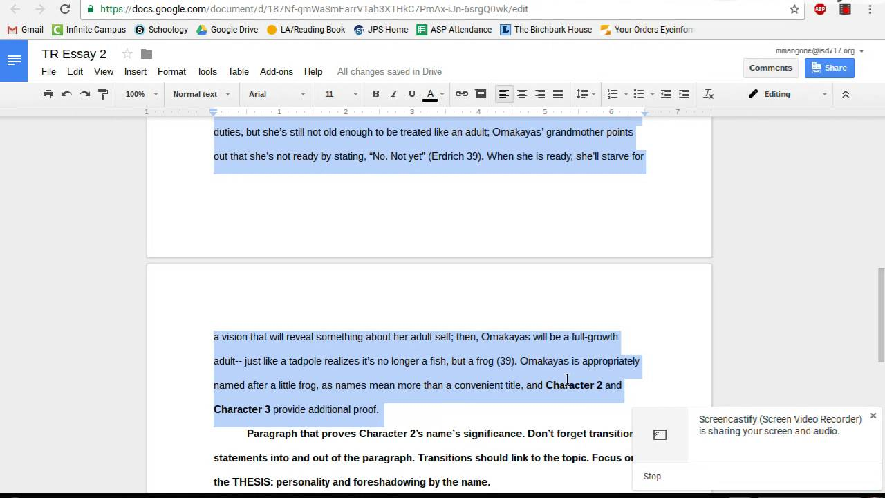 What Is A Thesis Statement In An Essay Essay Rough Draft Review Example Of A College Essay Paper also Examples Of A Thesis Statement For An Essay Essay Rough Draft Review  Youtube Example Of Essay Proposal