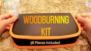 38 Piece Woodburning Kit-For Wood Burning Crafts