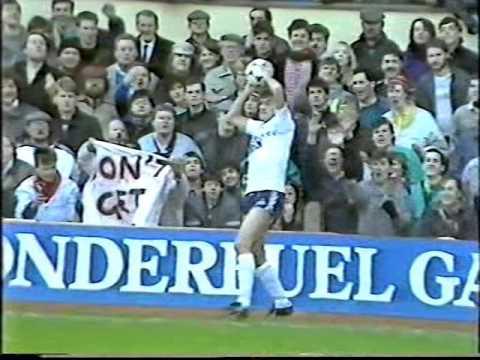 Arsenal 0 v 1 Tottenham Hotspur 1987 Littlewoods Cup Semi Final 1st Leg (Part 1)
