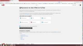 Reproducir videos a 60 FPS en youtube con Mozilla Firefox