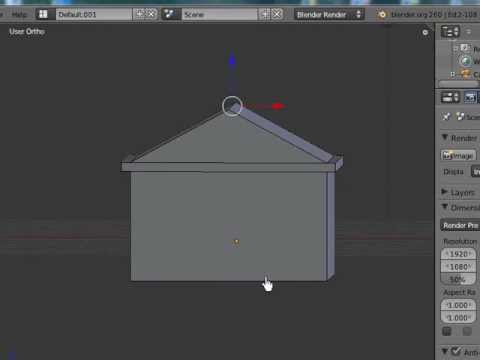 Building a basic low poly character rig in blender.