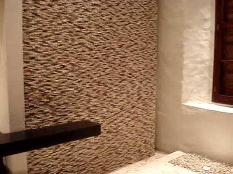 Construcci n de muros de agua spa santa clara youtube - Muro de agua ...