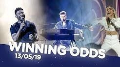Eurovision 2019 - Winning Odds (13/05/19)