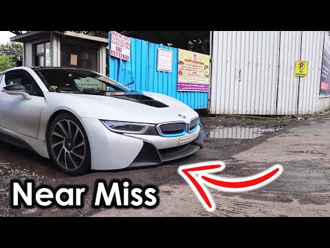 Indian Bad Roads Vs Supercars Bmw I8 Mumbai Supercars Of