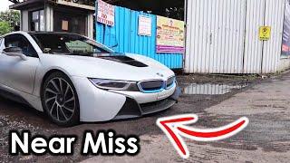 Indian Bad roads Vs Supercars   BMW i8   Mumbai   Supercars of Mumbai   2017