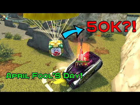 Tanki Online - April Fools Day 2020 - Gold Box Montage (50,000 CRYSTALS?!)