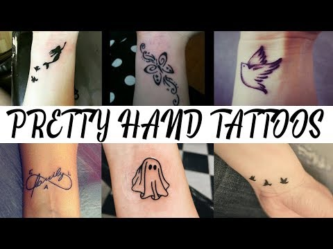 Tattoos For Girls On Wrist |  Pretty Hand Tattoos | Pictures Of Tattoos | Female Hand Tattoos Images
