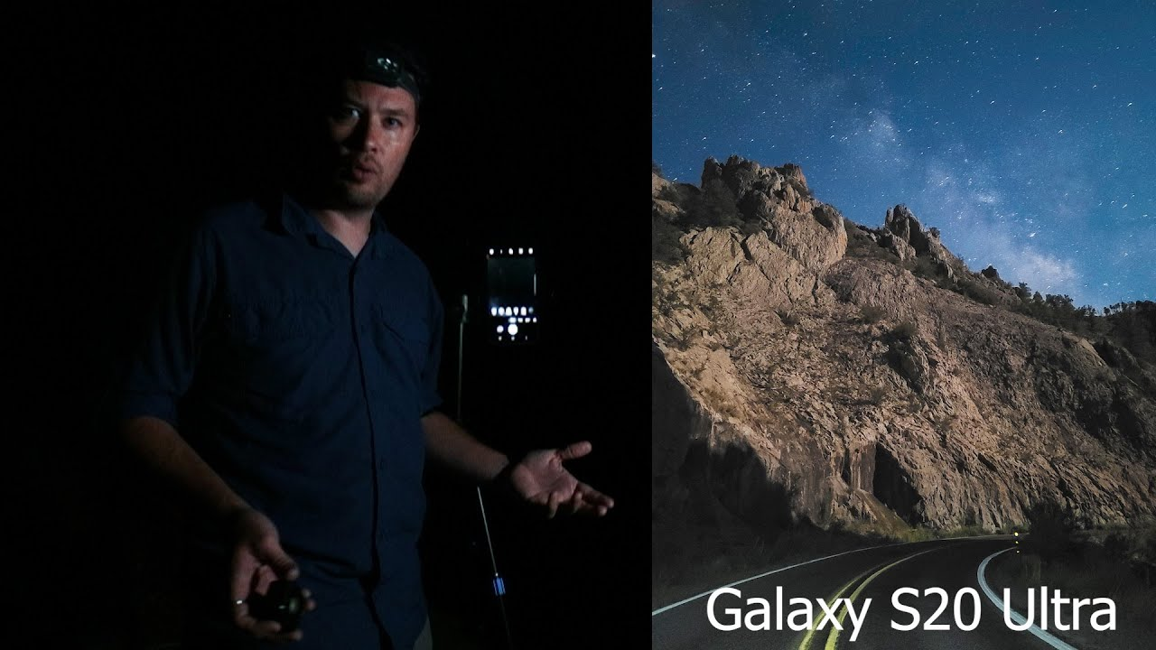 ASTROPHOTOGRAPHY PHONE CHALLENGE: Can The Galaxy S20 Ultra Capture The Milky Way In Moonlight