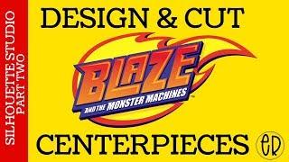 DEEL 2: HET MAKEN EN HET MAKEN VAN AJ VAN BLAZE EN HET MONSTER MACHINE CENTERPIECES DEEL 2