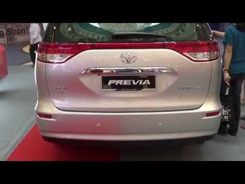 Toyota Previa 2014 Short Take