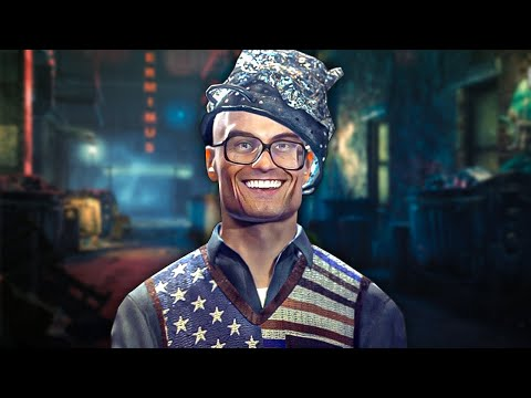 Hitman Absolution But Tin Foil Hat Man Is the Ultimate Assassin |