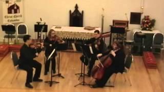 Antonin Dvorak String Quartet No. 10 in E-flat Major, Op. 51, Mvt. 1 Allegro ma non troppo