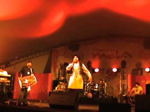 A.S.Kang Performing Live  At London Mela