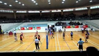 2016 B Div Girls Nat Final JSS vs PHS 2-0 1st set (Part 1/2)