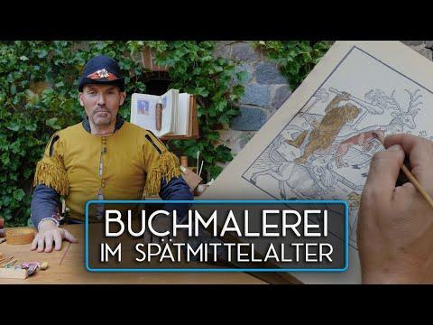 Buchmalerei In Der Zeit Des Frühen Buchdrucks