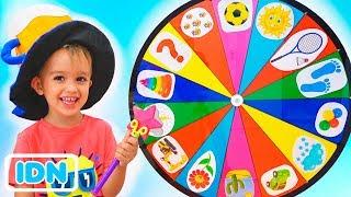 Menyenangkan! Anak anak Pura Pura Bermain dengan Video Roda Ajaib Untuk Anak dari Vlad dan Nikita
