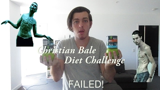 Christian Bale Diet Challenge (FAILED!)