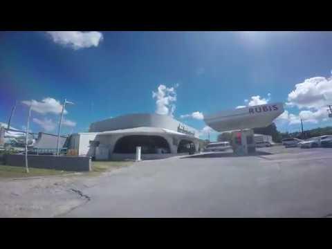 Driving around the Island of Antigua