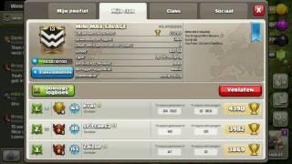 Inside minimax savage- war #3 - clash of clans