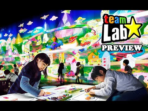Team Lab Plaza Indonesia Preview - Vlog