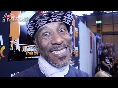 MCM Comic Con 2017  Birmingham  : Danny JohnJules