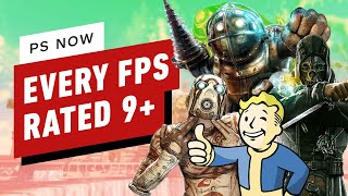 Every First Person Shooter on PS Now Rated 9 and Above