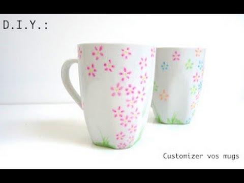 tutoriel vid o diy customizer un mug youtube. Black Bedroom Furniture Sets. Home Design Ideas