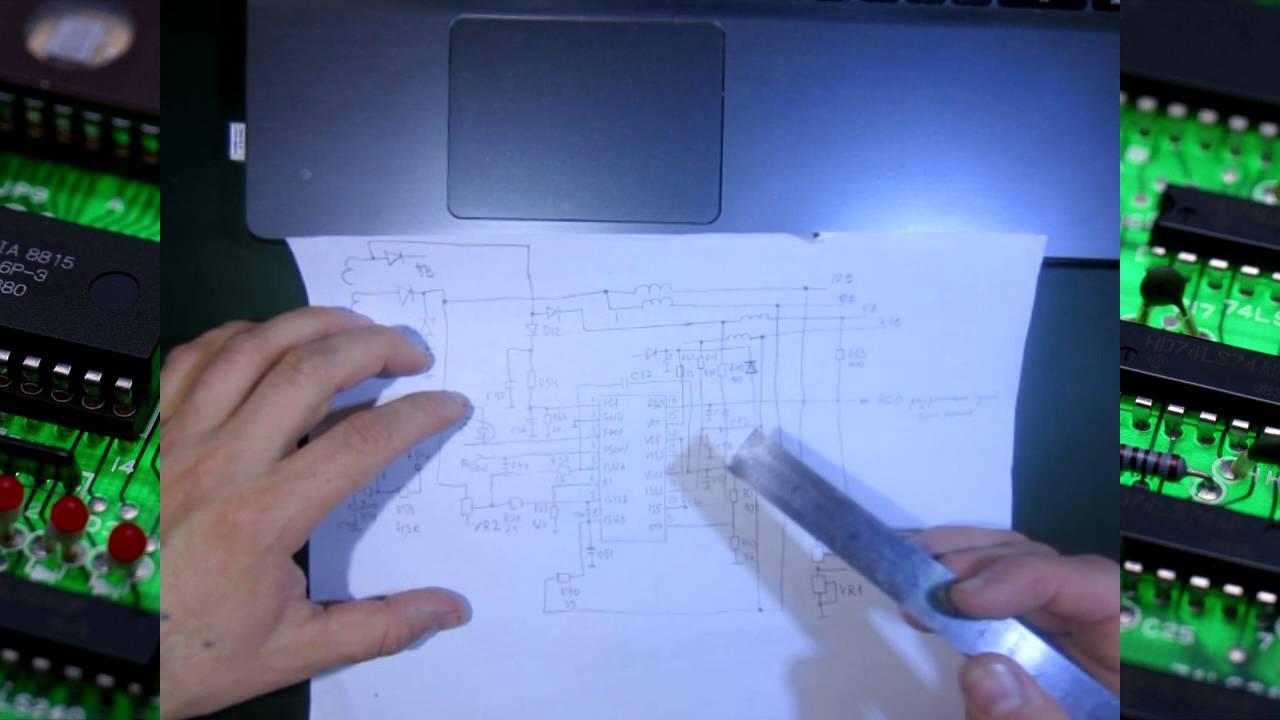 Блок питания 550W FSP ATX-550PNR - 3D-обзор от Elmir.ua - YouTube