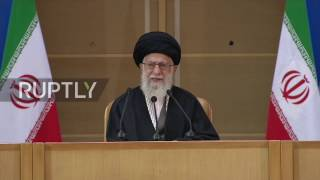 Iran  Supreme Leader speaks at 6th International Conference on Palestinian Intifada