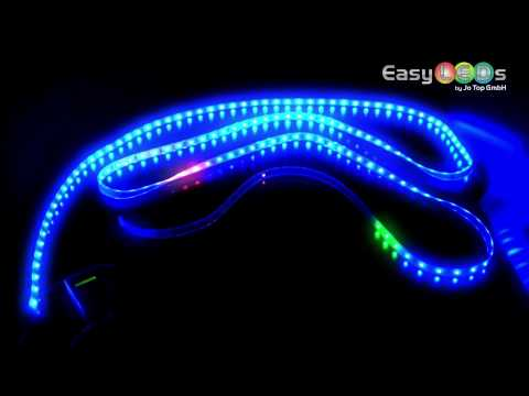 led lichtband strip 5m 150 3chip smd led rgb ic. Black Bedroom Furniture Sets. Home Design Ideas