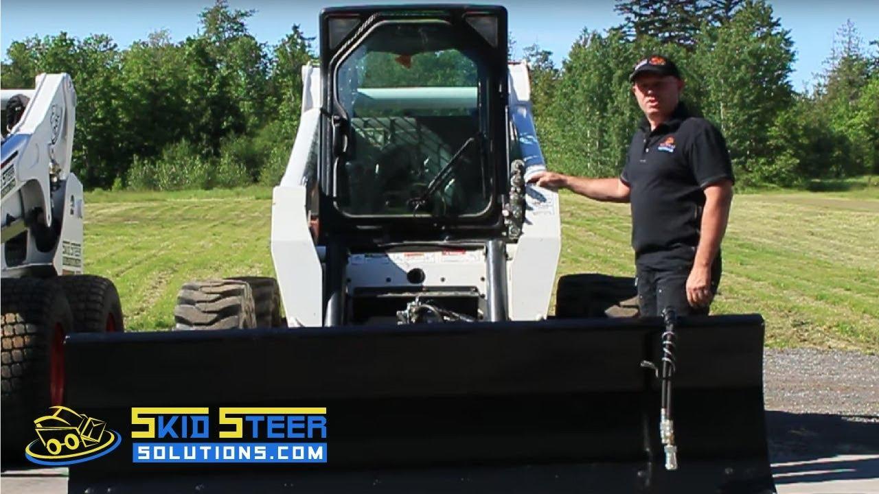 medium resolution of skid steer hydraulics instructional how do they work